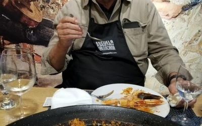 MAKING MIND BLOWING PAELLA COOKING SCHOOL VALENCIA