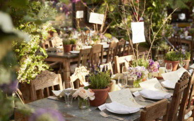 England's Petersham Nurseries Café: Michelin Worthy Dining in a Nursery.