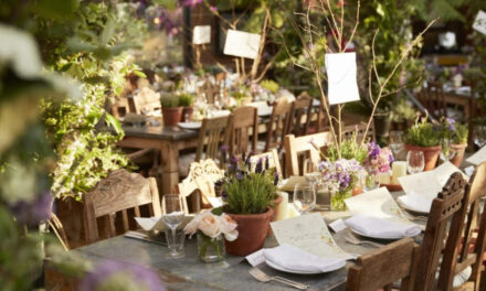 England's Petersham Nurseries Café: Michelin Worthy Dining in a Nursery.