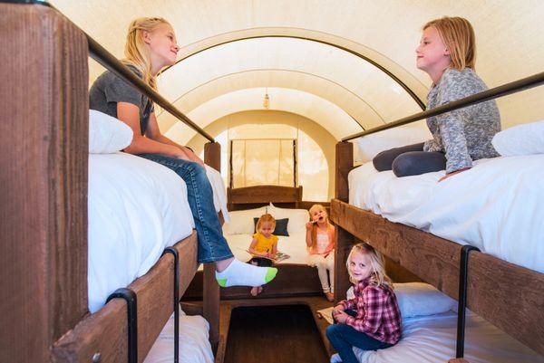 Stay in a Conestoga Wagon in 25 States