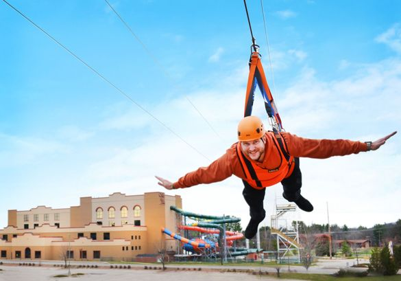 Longest Head-First Racing Zipline Course in USA