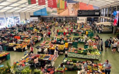 A Festival of Food & Stuff: The Cascais Farmer's Market